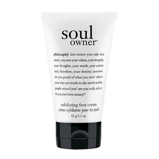 Best Foot Cream - Philosophy Soul Owner Exfoliating Foot Cream