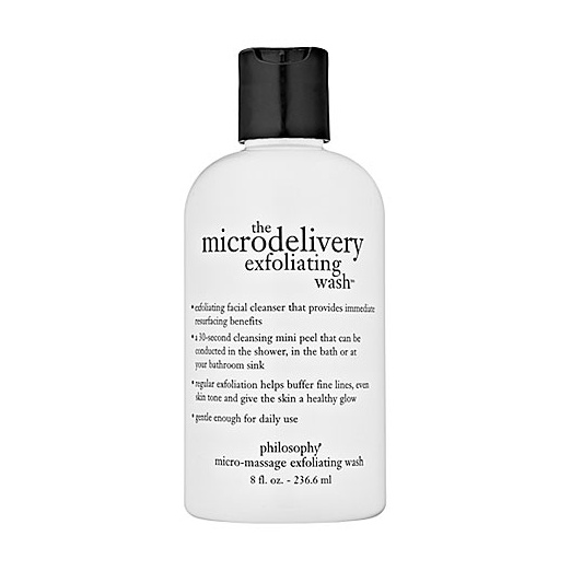 Best Facial Exfoliators - Philosophy The Microdelivery Exfoliating Wash