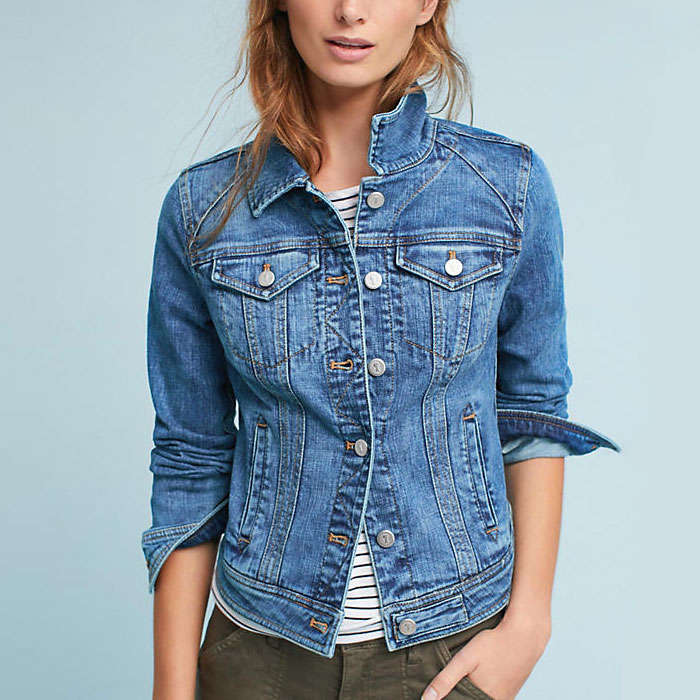 Best Anthropologie Styles - Pilcro Farrah Denim Jacket