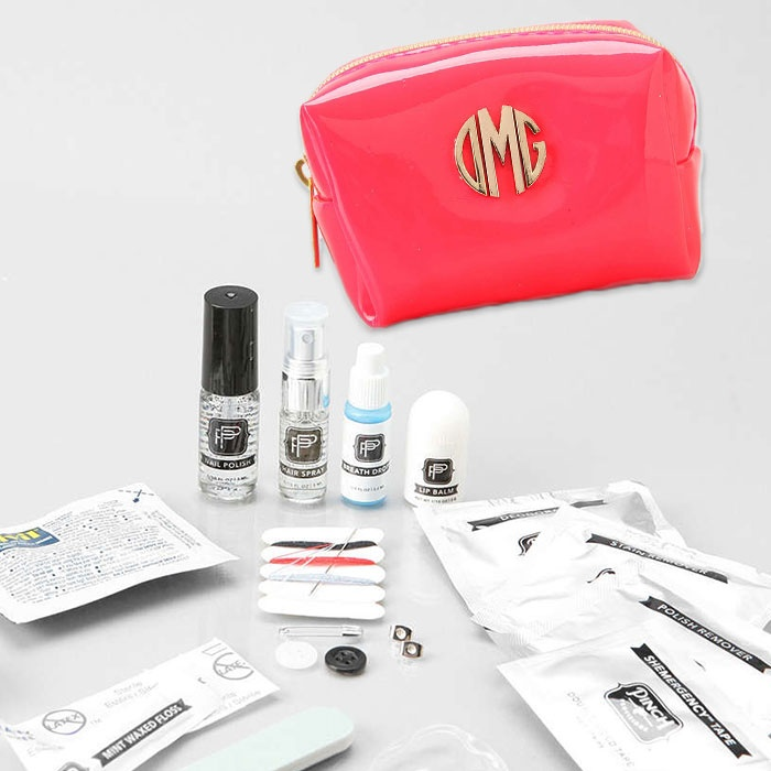 Best For the Frequent (Fashionable) Flier - PINCH Provisions Monogrammed Minimergency Kit