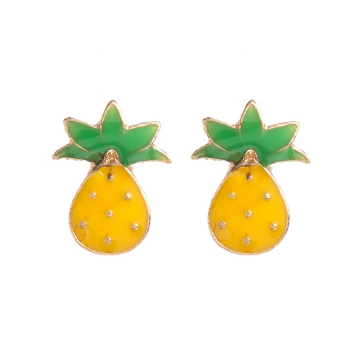 Best It's Raining Pineapples - Piper Strand Pineapple Studs