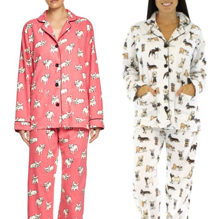 P.J. Salvage Printed Flannel Pajama Sets | Rank & Style