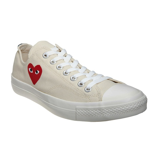 Best Stylish White Sneakers - Play by Comme des Garçons Chuck Taylor Low Top