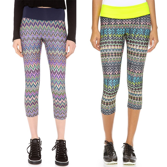 Best Wild printed workout bottoms - PRISMSPORT Capri Leggings