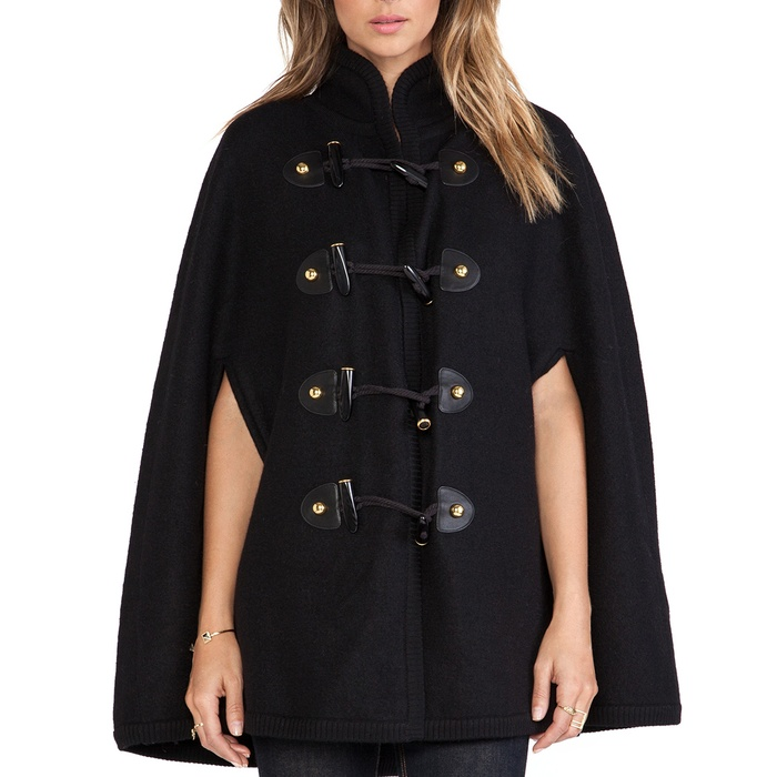 Best Fall Capes - Rachel Zoe Regina Toggle Cape