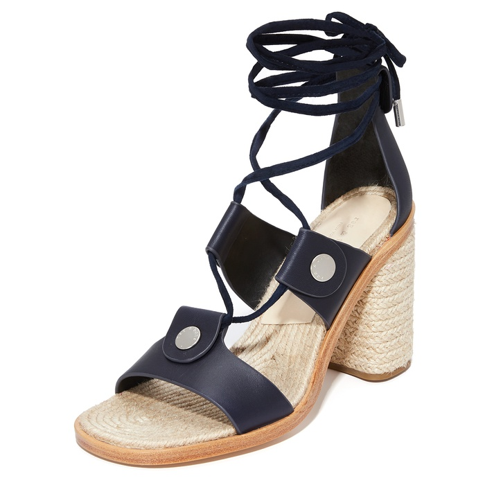 Best Heeled Sandals - Rag & Bone Eden Lace Up Sandals