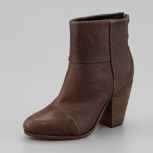 Best Brown Ankle Boots - Rag & Bone Classic Newbury Suede Ankle Boots