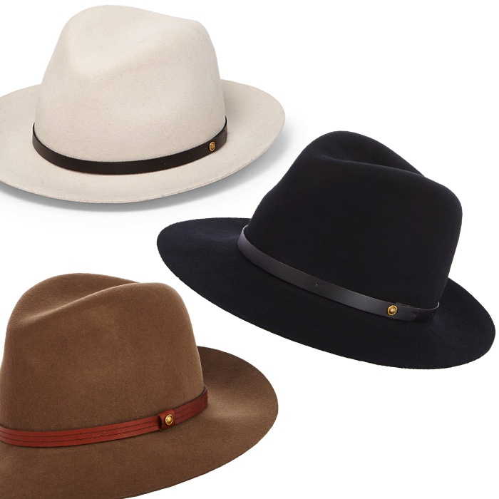 Best Seasonal Hats - Rag & Bone Floppy Brim Fedora