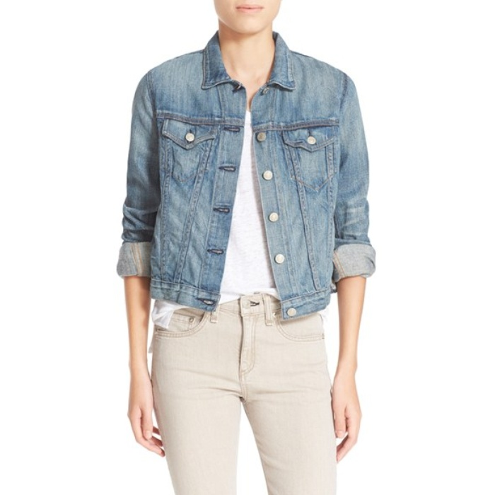 Best Denim Jackets for Cool Summer Nights - rag & bone Jean Denim Jacket