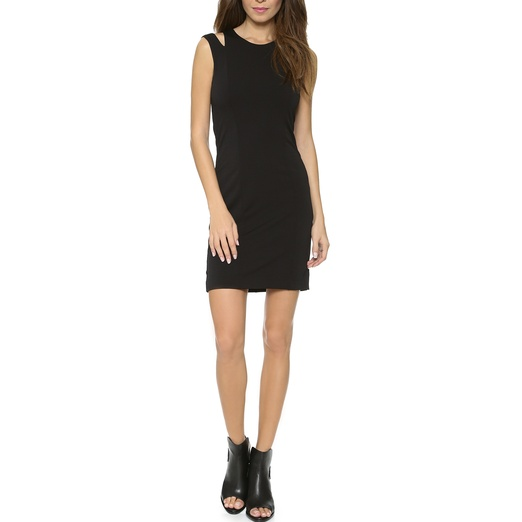 Best Spring LBDs - Rag & Bone Vela Cutout Shoulder Dress