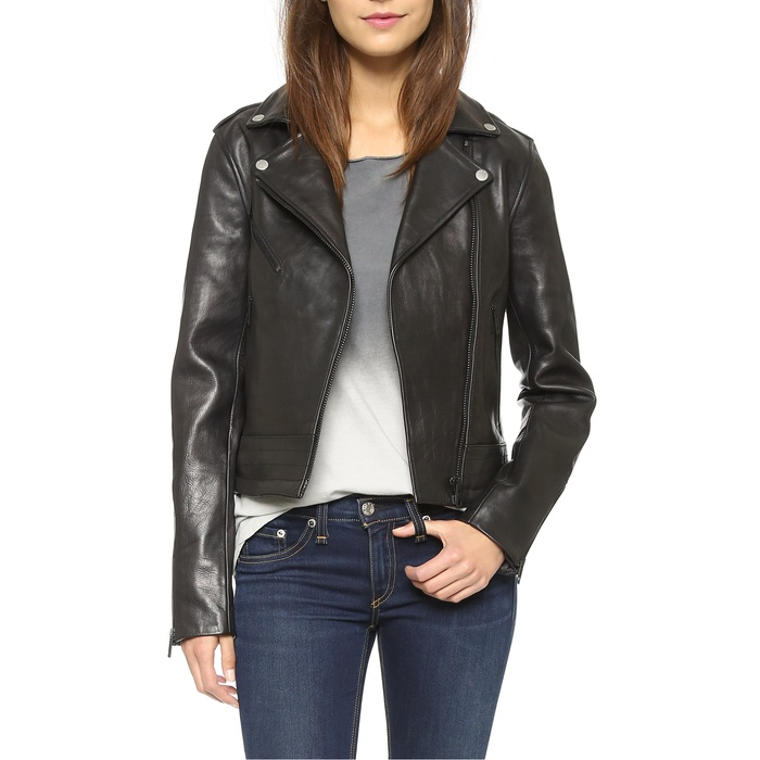 Best Moto Jackets - Rag & Bone/Jean Chrystie Leather Jacket