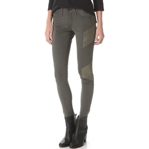 Best Moto Jeans - Rag & Bone/JEAN The Halifax Legging Jeans