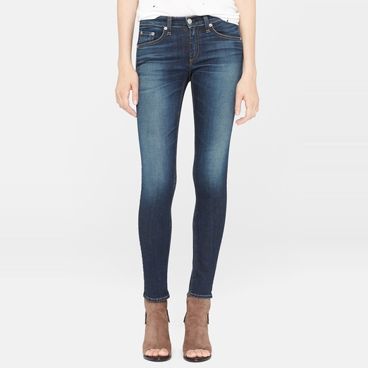 Best What's New in Denim... - Rag & Bone/JEAN The Skinny Stretch Jean
