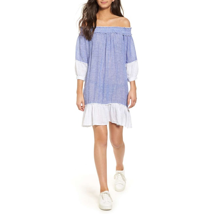 Best Casual Off The Shoulder Dresses - Rails Camilla Off The Shoulder Dress