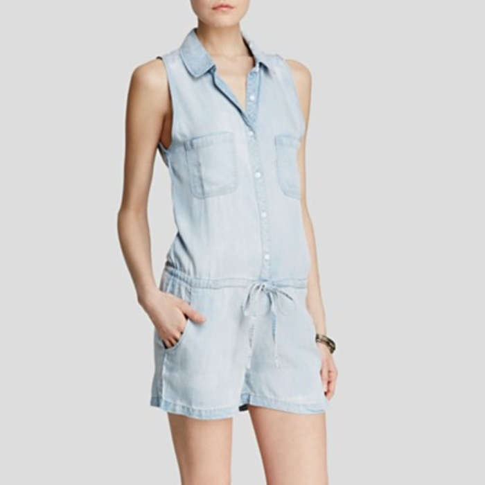 Best Summer's Best Chambray Fashion - Rails Fiona Chambray Romper
