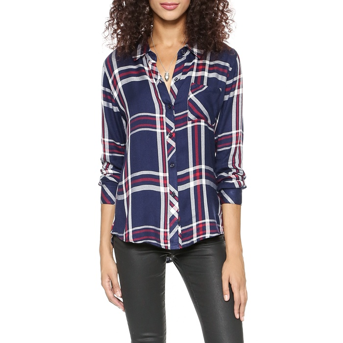 Best Plaid Button Downs - Rails Hunter Long Sleeve Button Down