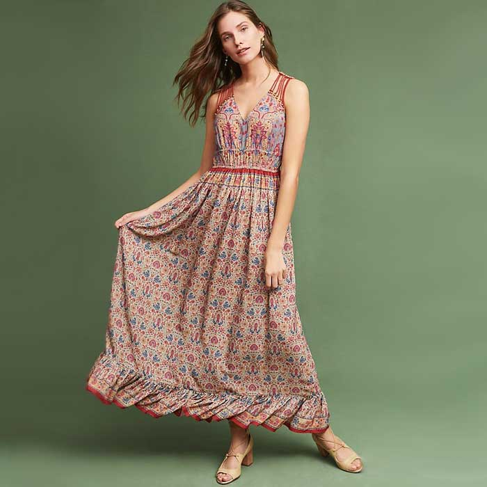 Best Floral Maxi Dresses - Ranna Gill Crespi Maxi Dress