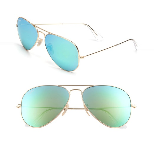aviator sunglasses mirror sb1e  Best Sunglasses of All Shapes and Sizes for Spring