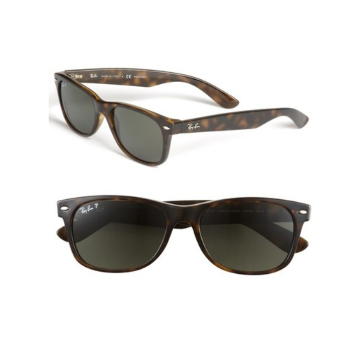 Best 10 Trending Gifts for The Guy With Style - Ray Ban New Wayfarer 55mm Polarized Sunglasses