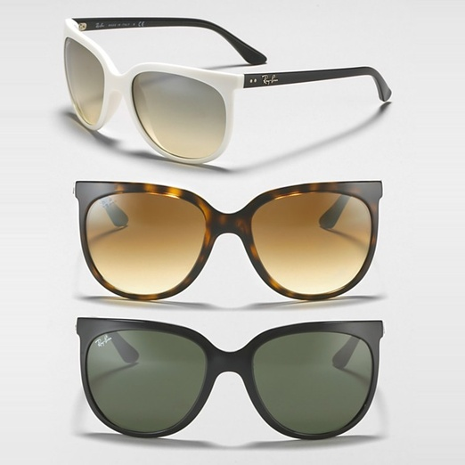 Best Sunglasses of All Shapes and Sizes for Spring - Ray Ban Oversized Cat Eye Sunglasses