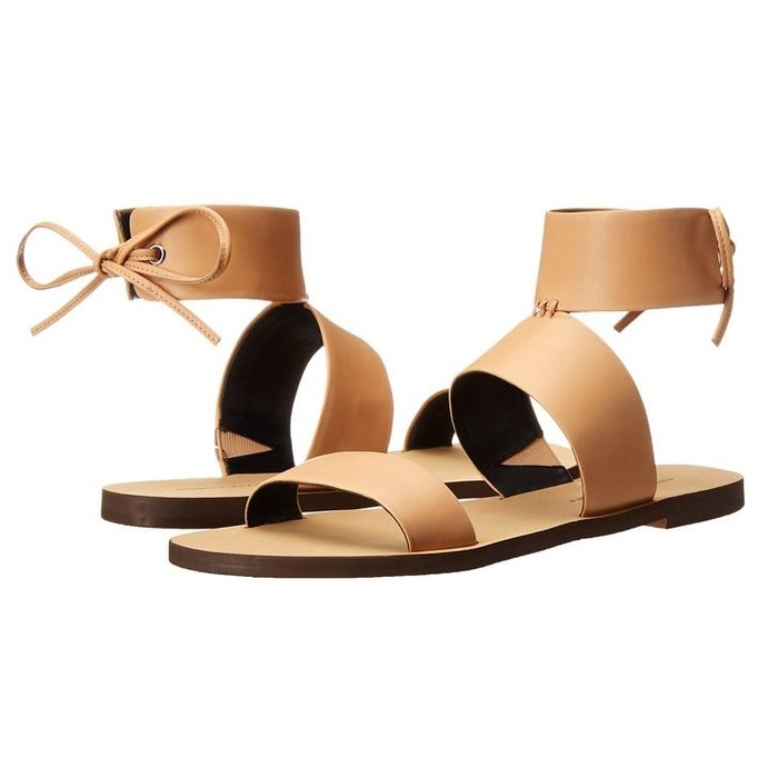 Best Nude Shoes For Summer - Rebecca Minkoff Emma Flat Sandal
