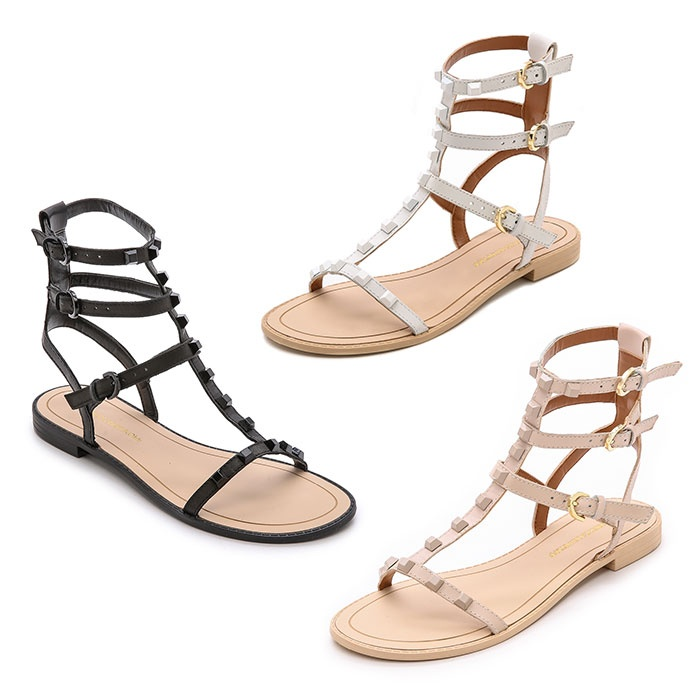 Best Gladiator Sandals Under $200 - Rebecca Minkoff Georgina Studded Sandals