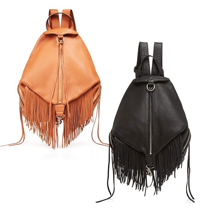 Best Trending Backpacks - Rebecca Minkoff Julian Fringe Backpack