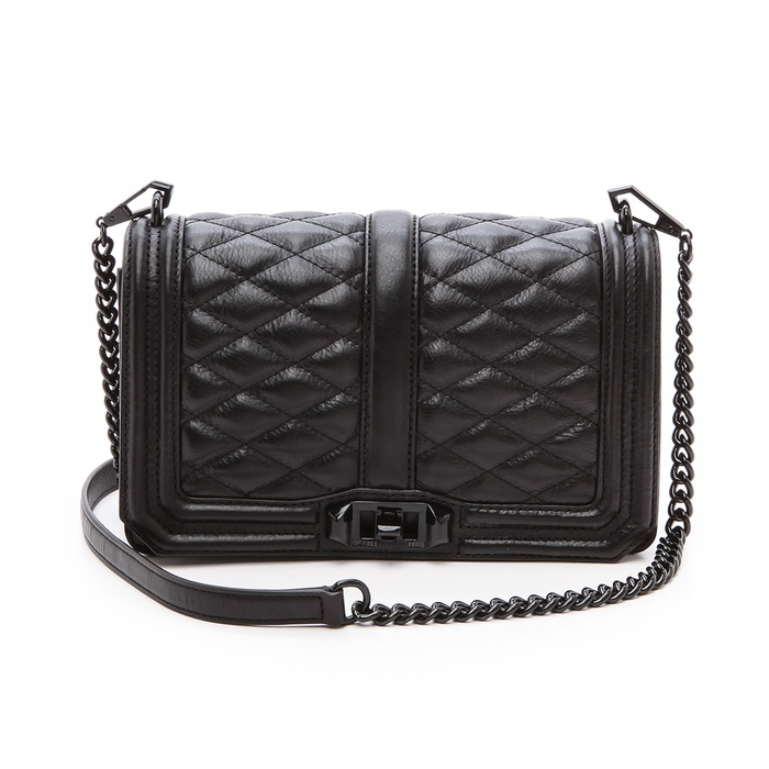 Best Quilted Handbags Rebecca Minkoff Love Cross Body Bag