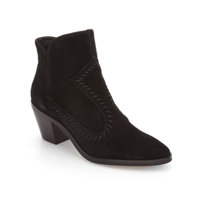 Best Block Heeled Booties Under $150 - Rebecca Minkoff Lulu Bootie