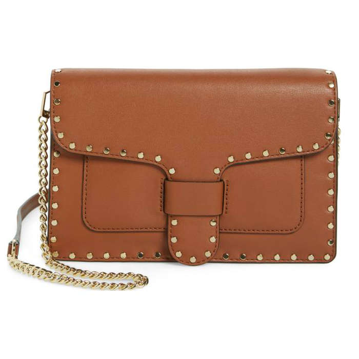 Best Embellished Handbags - Rebecca Minkoff Medium Midnighter Leather Crossbody Bag