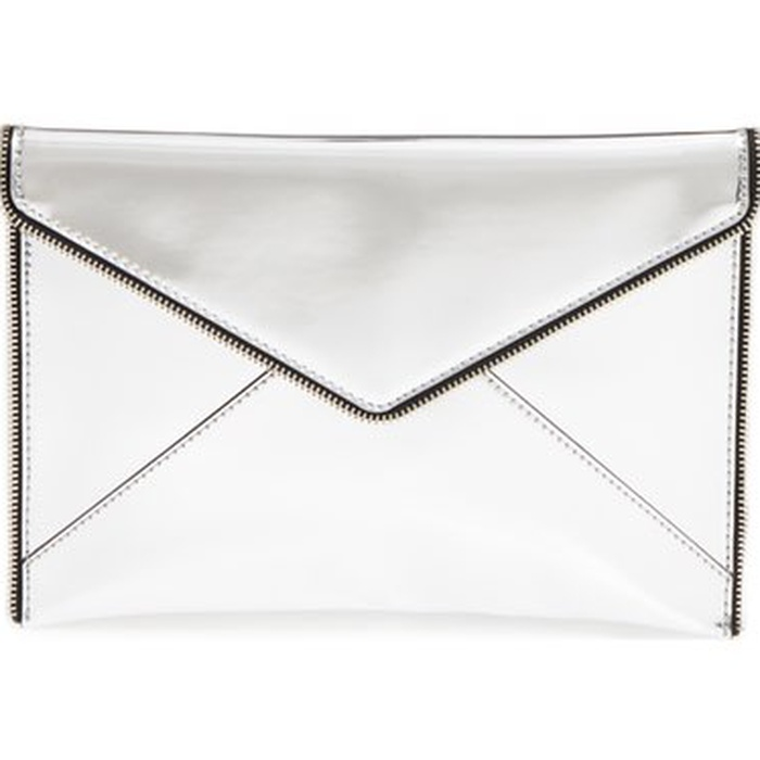 Best Statement Clutches - Rebecca Minkoff Mirrored Leo Clutch