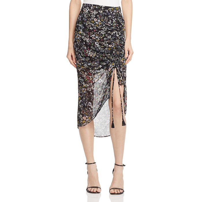 Best Flirty Skirts - Rebecca Minkoff Romy Floral Skirt