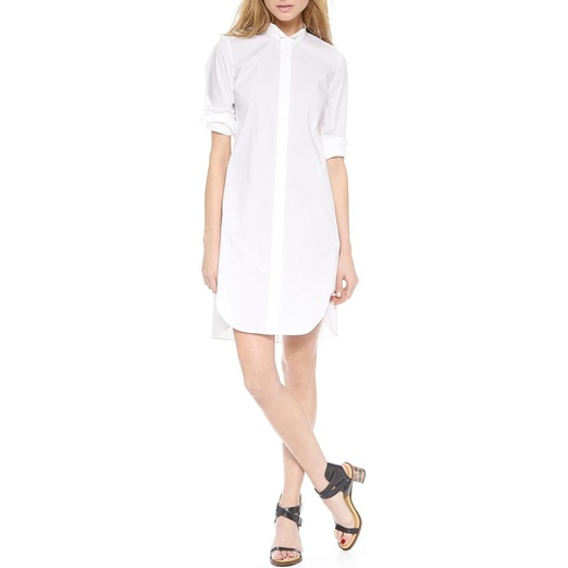 Best Shirt Dresses - Rebecca Taylor Long Sleeve Cotton Shirtdress
