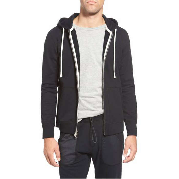 Best Men's Hoodies - Reigning Champ Core Zip Front Hoodie