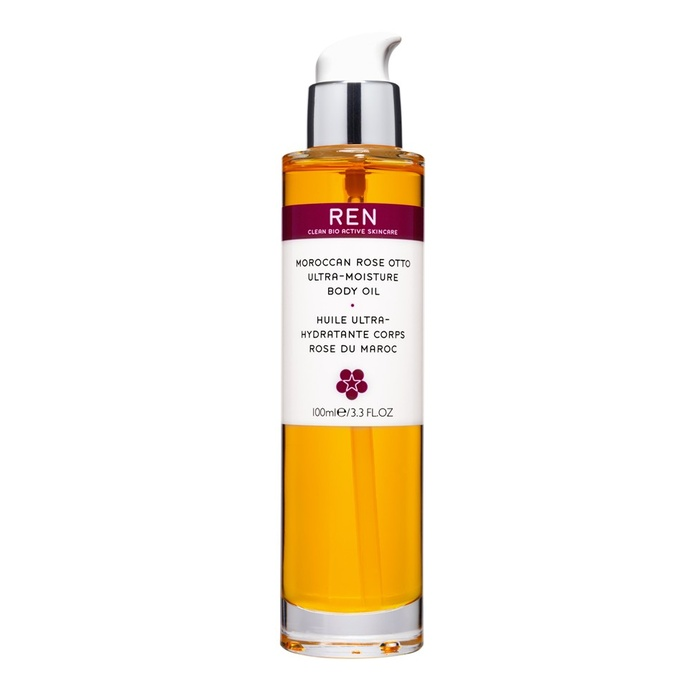 Best Body Oils for Winter - Ren Moroccan Rose Otto Ultra-Moisture Body Oil