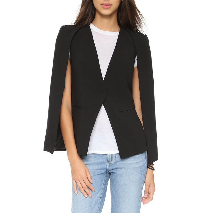 Best Cape Coats and Blazers - re:named Cape Blazer