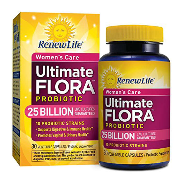 Best Probiotics For Women - Renew Life Ultimate Flora Probiotic Women's Care