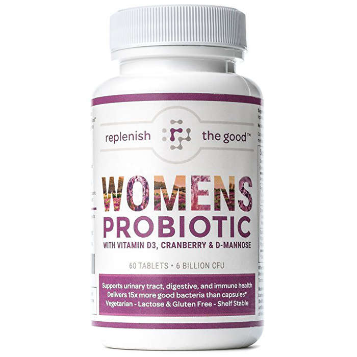 Best Probiotics For Women - Replenish The Good Women's Probiotic