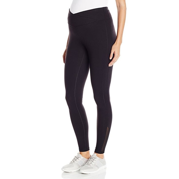 Best Maternity Workout Leggings - Ripe Maternity Balance Cropped Leggings