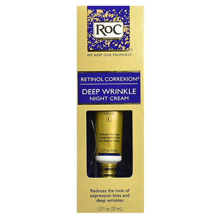 Best Drugstore Night Creams - RoC Deep Wrinkle Night Cream