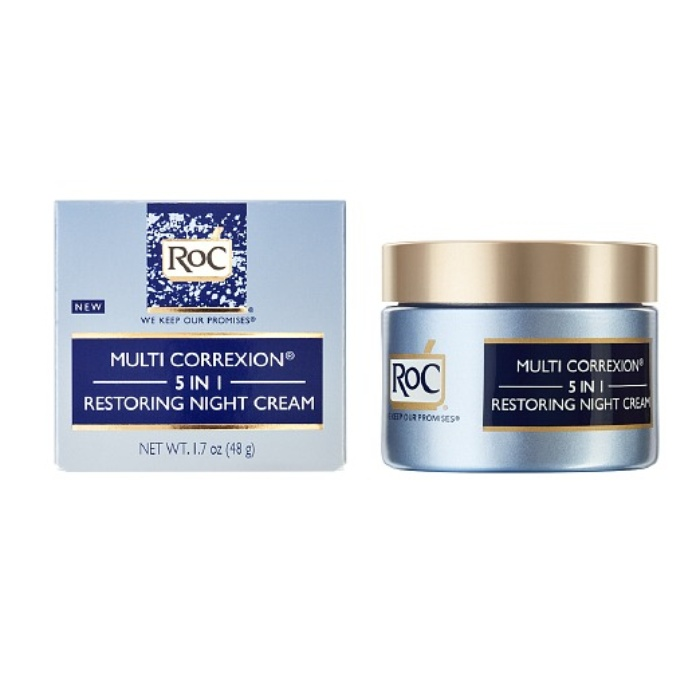 Best Drugstore Night Creams - RoC Hexinol Multi Correxion 5 in 1 Restoring Night Cream