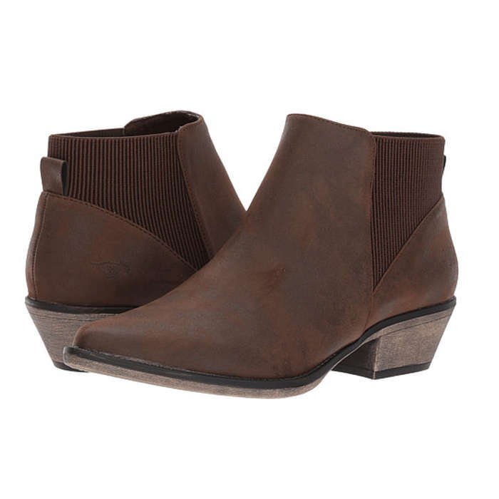 Best Vegan Leather Booties - Rocket Dog Alarm