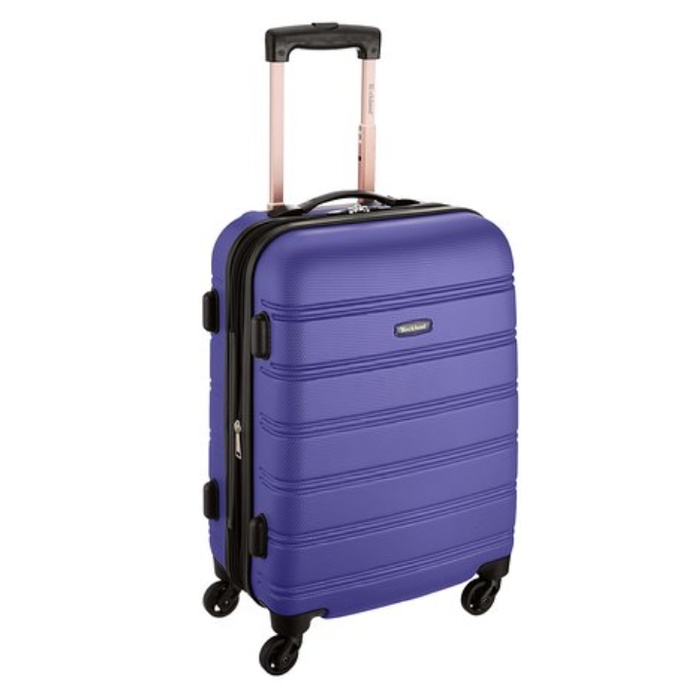 Rockland Melbourne 20-Inch Expandable Abs Carry On Luggage | Rank ...