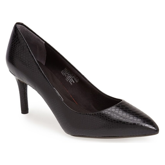 Best Comfortable Work Heels - Rockport Total Motion Pump
