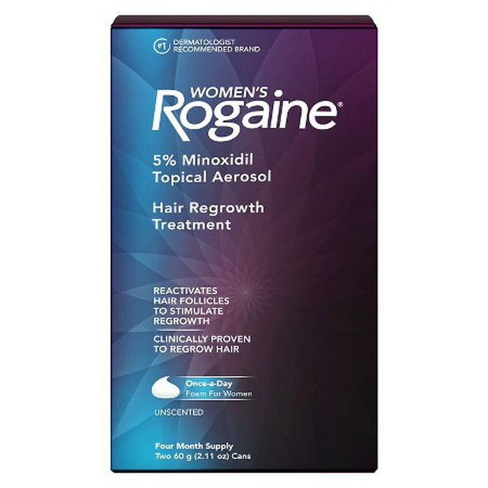 Best Hair Loss Treatments for Women - Rogaine Women's Once-A-Day Foam