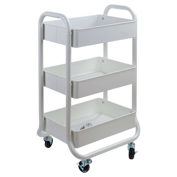 Best Closet Organizers - Room Essentials Storage Cart White