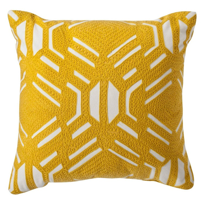 Best Throw Pillows Under $50 - Room Essentials Yellow Patterned Decorative Throw Pillow
