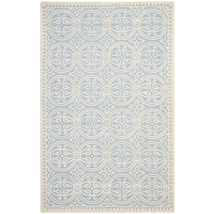 Best Area Rugs Under $300 - Safavieh Cambridge Collection Handmade Moroccan Geometric Premium Wool Area Rug