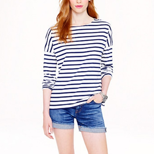 Best Nautical Inspired Bests - Saint James for J.Crew SAINT JAMES® FOR J.CREW SLOUCHY TEE