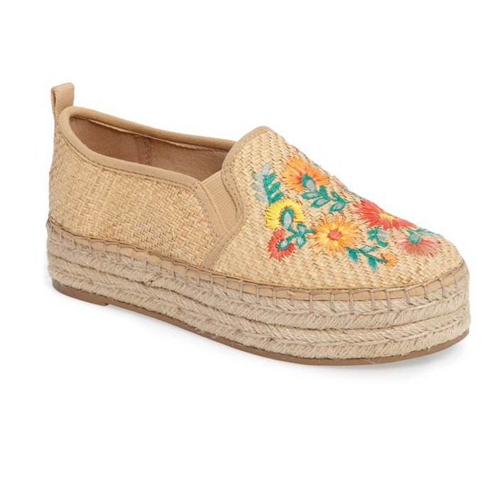 Best Embroidered Shoes - Sam Edelman Carrin Embroidered Sneaker